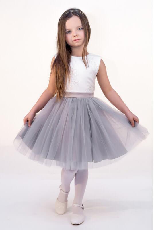 48ebff4c0b LaKey Megan sukienka koronkowa z tiulem dla dziewczynki . Dla dzieci ...
